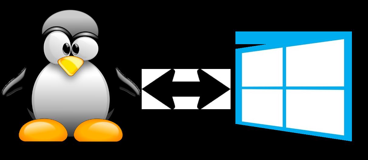 Partage Linux Windows